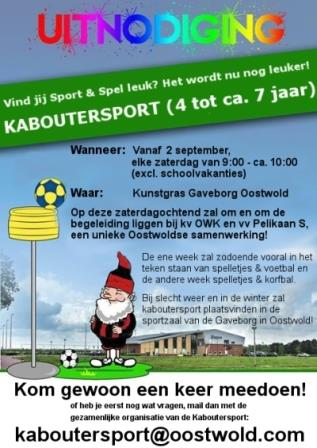 Kaboutersport Oostwold